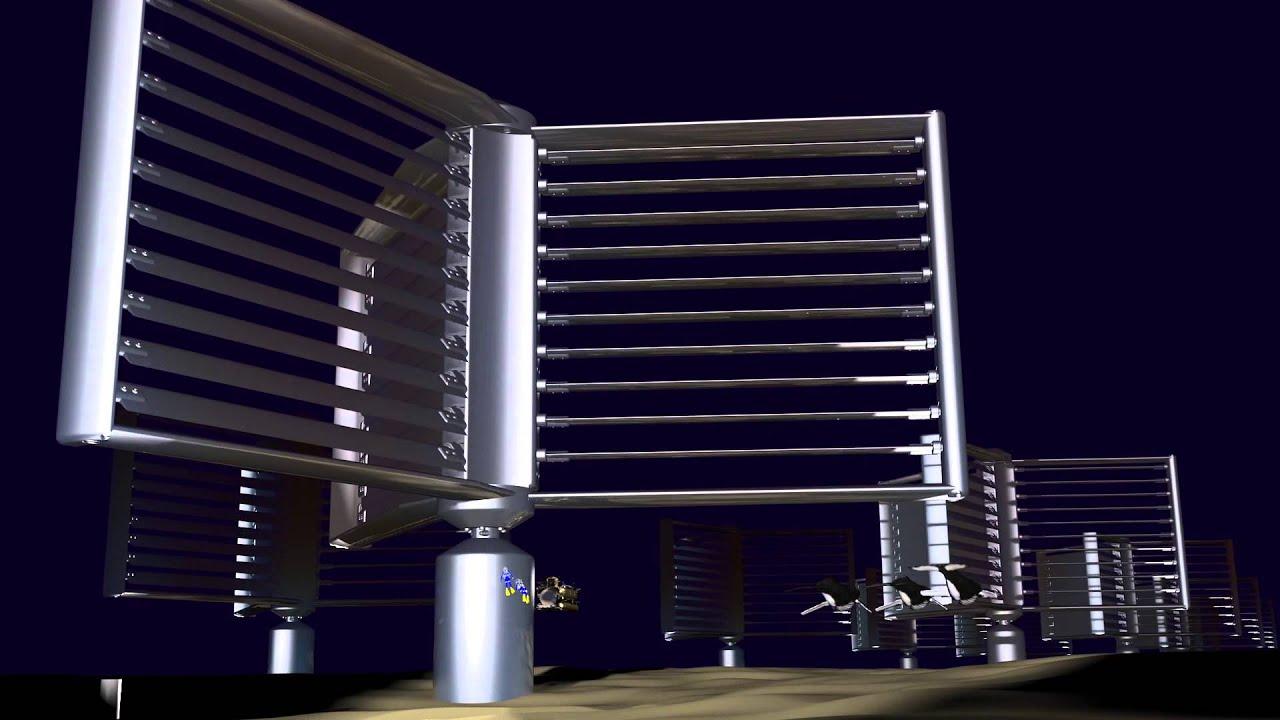 Underwater power generation turbine