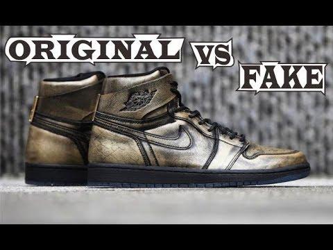 5217cd94f6e Nike Air Jordan 1 Retro High OG Wings Original & Fake - YouTube