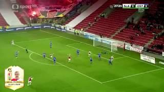 Slavia Praha - góly (podzim 2017)