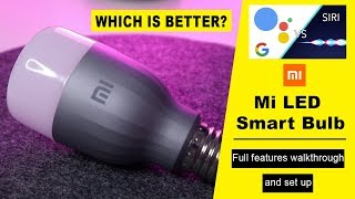 Mi LED Smart Bulb - Full Set Up with both Android and iOS [Smart Home]