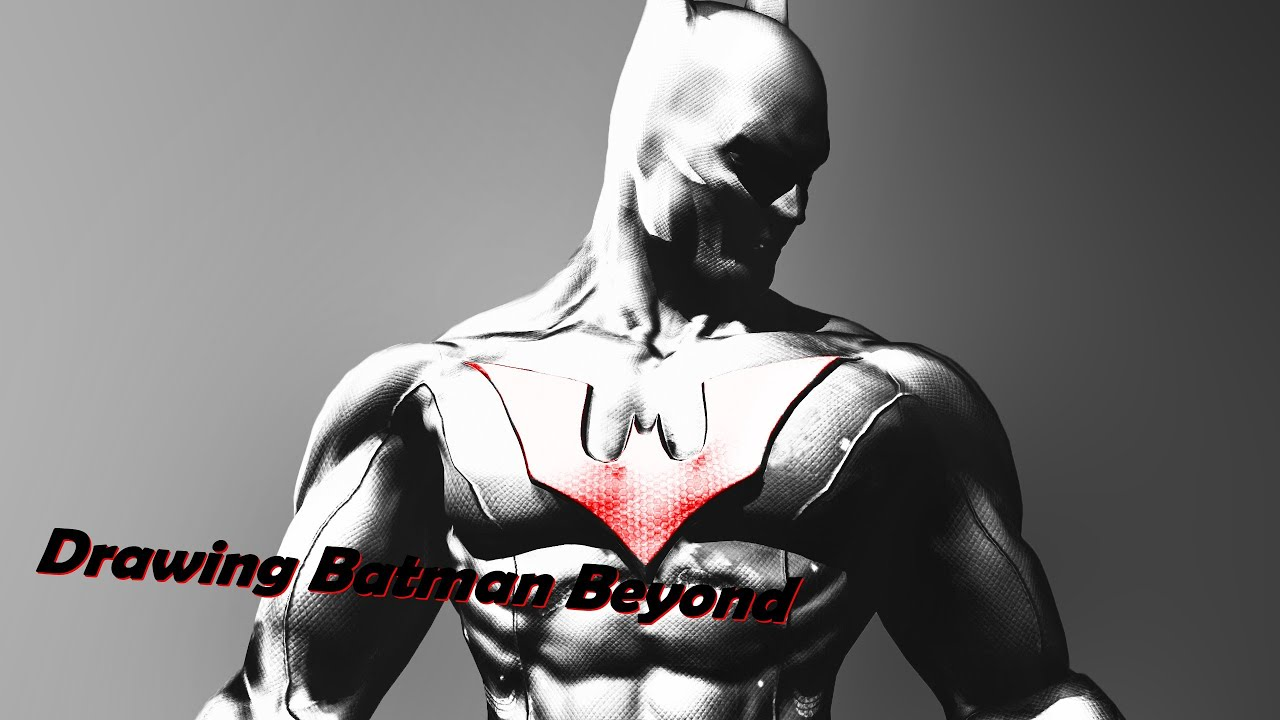 Drawing Batman Beyond