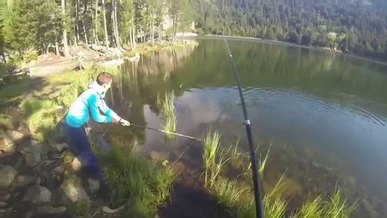 peche truite lac