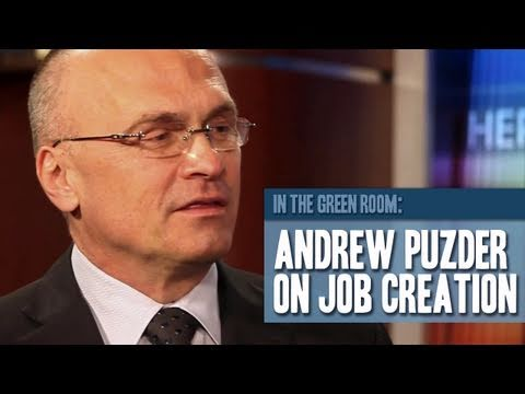 In The Green Room: Andrew Puzder on Job Creation