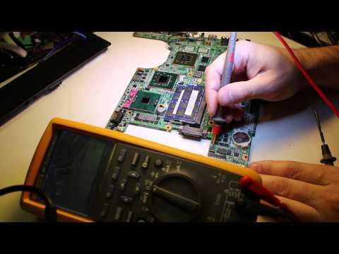 033 Диагностика и ремонт HP Pavillion dv6700 ( часть 1 )