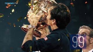 Roger Federer's Road To 99 Titles