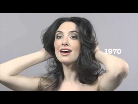 Hundert Jahre Schönheit rasen durch 60 Sekunden