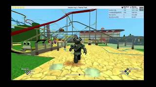 ROBLOX theme park tycoon preview
