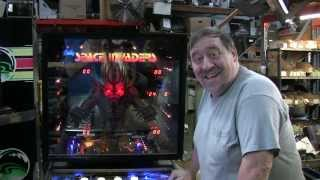 #436 Bally SPACE INVADERS Pinball Machine with EXTRA LIGHTING added! TNT Amusements