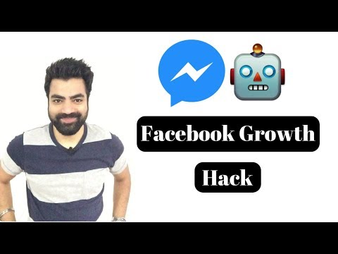 How To Make A Free Facebook Messenger Bot Without Coding (Facebook Growth Hack!!!)