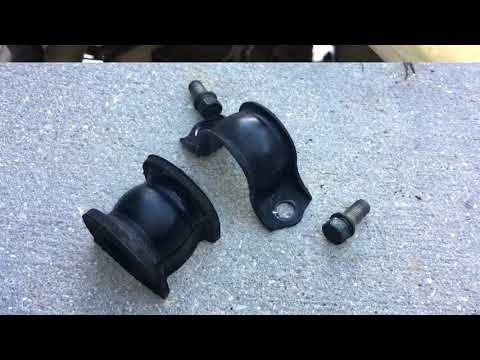 Honda Sway Bar Bushing Replacement DIY