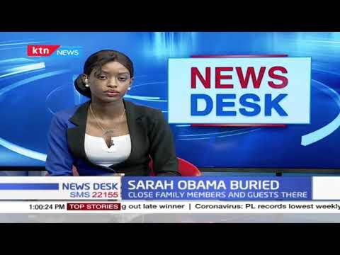 Sarah Obama Buried: Former US President Barack Obama's grandmother laid to rest in Kogelo, Siaya