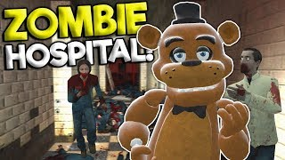 ZOMBIE APOCALYPSE SURVIVAL AT A HOSPITAL! - Garry's Mod Roleplay Gameplay - Gmod FNAF Survival