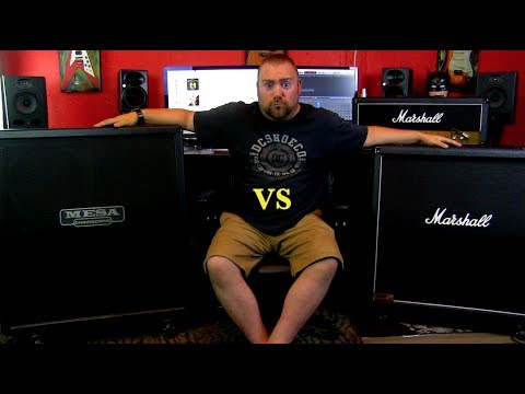 Download Mesa Rectifier 4x12 VS Marshall 1960A 4x12