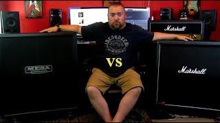 Mesa Rectifier 4x12 VS Marshall 1960A 4x12
