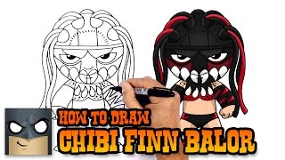 How to Draw Finn Balor | WWE