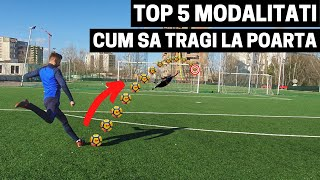 TOP 5 MODALITATI CUM SA TRAGI LA POARTA | IMPROVED FOOTBALL Resimi