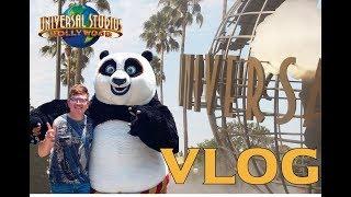 Me despido de Jurassic Park 😢🦕💔| VLOG en Universal Studios Hollywood | Led Cárdenas