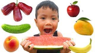 Johny Johny Sí Papá Canciones Infantiles, Johny Johny Fruit version Spanish Kids Anto TV