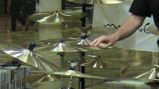 Dream Cymbal Tasting for Drummers!  Willis Music Tri County