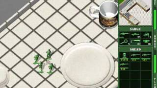Army Men 2 Walkthrough : Kitchen Skirmish LVL 1