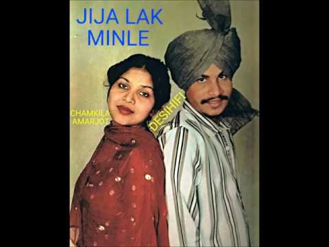 Jija Lak Minle - Amar Singh Chamkila & Amarjot