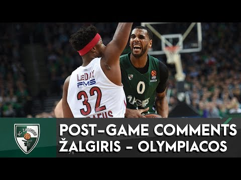 Davies and Wolters talk about Zalgiris victory vs Olympiacos