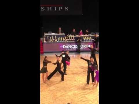 Adult Latin quarterfinal 2016 DanceSport BYU