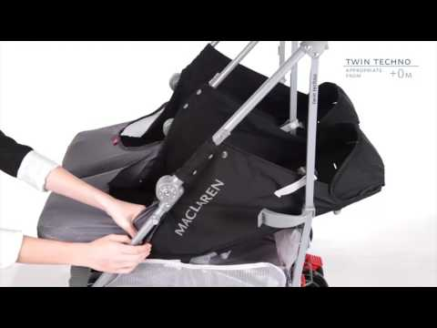 stroller world maclaren twin techno 2017 youtube. Black Bedroom Furniture Sets. Home Design Ideas