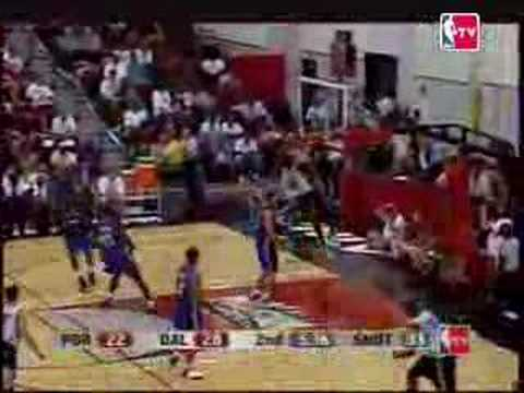 Greg Oden highlights against Dallas NBA Summer League 2007
