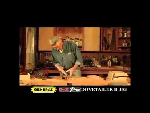 General #861 Dovetail II Jig Promo w music