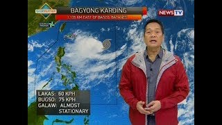Weather update as of 4:15 p.m. (August 8, 2018)