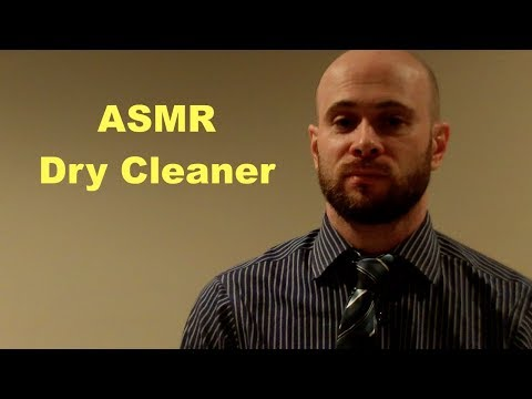ASMR softly spoken dry cleaner role play