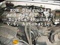 EGR Diagnosis and Repair
