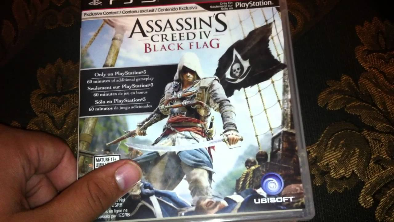 Assassin S Creed 4 Black Flag Unboxing Ps3 Hd Youtube
