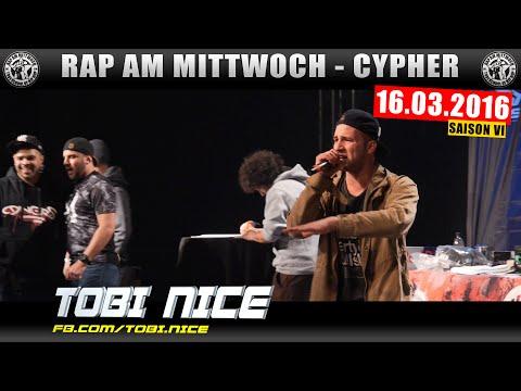 RAP AM MITTWOCH MÜNSTER: 16.03.16 Die Cypher feat. TOBI NICE uvm. (1/4)