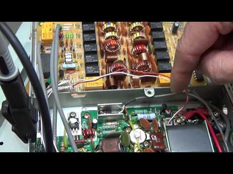#44 HAM Radio repair: Troubleshooting Yaesu FT-1000MP V Field with no TX power