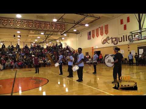 Horace Mann vs PCS 2017 - Drumline Battle Windy City Rumble