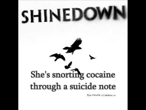Shinedown - Cyanide Sweet Tooth Suicide (with Lyrics)