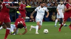 Mohamed Salah vs Real Madrid | Salah breaks collarbone | UCL Final