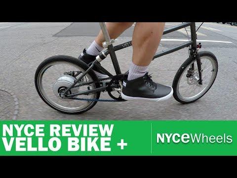 Vello Bike+   Lightest Electric Folding Bike   Video Review