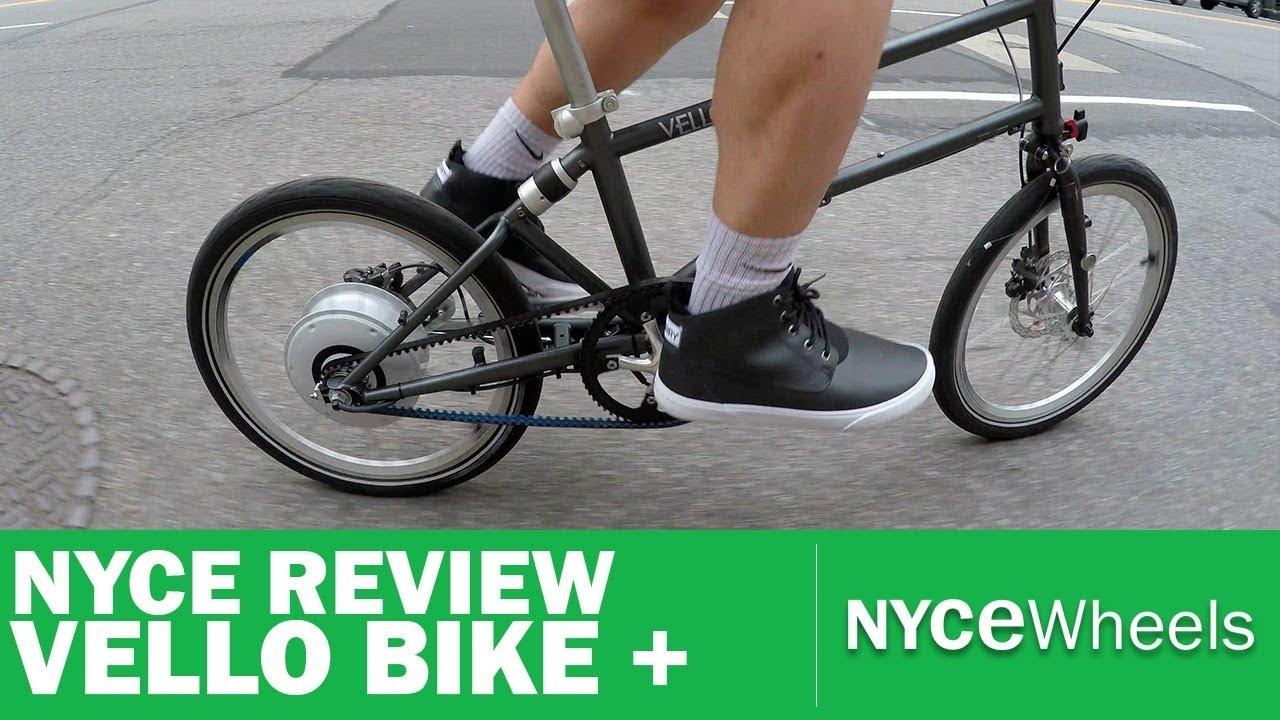 Vello Bike Lightest Electric Folding Bike Video Review Youtube