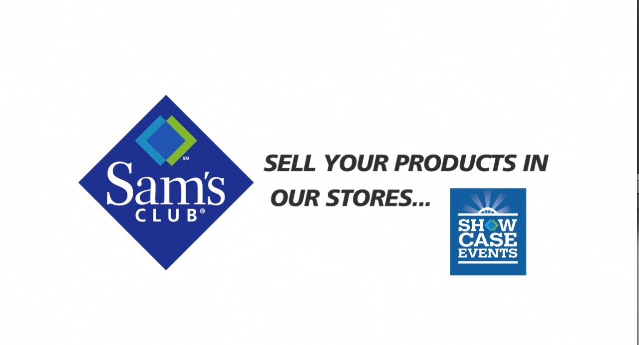 Get Your Products in Sam\'s Club with Show Case Events - YouTube