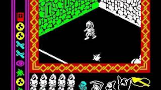 Nightshade Walkthrough, ZX Spectrum