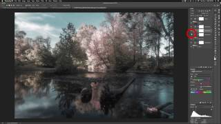 How to Simulate Infrared False Color in Photoshop