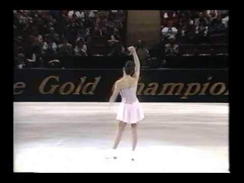 "Kristi Yamaguchi skating to ""The Seasons"" @ 1996 The Gold Championships"