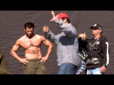 THE WOLVERINE Making Of Video BRoll