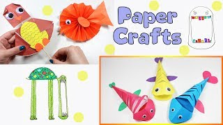 Paper Craft Compilation DIY | Easy Crafts For Kids