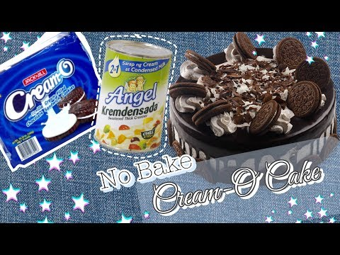 No Bake Oreo/ Cream-O Cake | using two Ingredients II withJoshvy