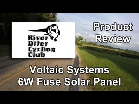 Product Review : Voltaic Systems Fuse 6W Solar Charger