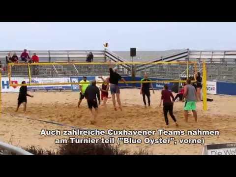 27. Beachvolleyball-Cup in Cuxhaven (Cuxhavener Nachrichten/Niederelbe-Zeitung)